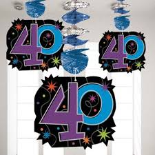 40th Birthday Decorations Canada by 40th Birthday Party Themes U0026 Ideas Party Supplies Party Delights
