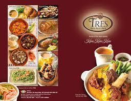 tres cuisine tres cuisine restaurant quezon city philippines