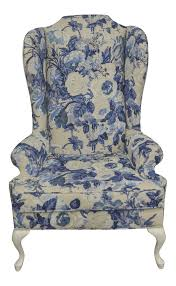 Vintage Duralee Linen Blue & White Floral Wing Chair In 2019 ... Sure Fit Cotton Duck Folding Chair Slipcover Wayfair Custom Slipcovers By Shelley Floral Wingback Chair With Boxpleat What Is Upholstery And How Do You Choose The Best Fabric For Your Bedroom Astonishing Wing Recliner For Elegant Home In Buffalo Check The Maker Chairs Redoubtable With Arms Magnificent Vintage Duralee Linen Blue White 2019 To Reupholster A A Bystep Tutorial Guide Amazoncom Tailor Microsuede Fniture Ikea Sofa Cover Couch Comfort Works