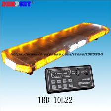 Strobe Light Bar For Trucks Tbd 10l22 Led Car Lightbar Amberwhite ...