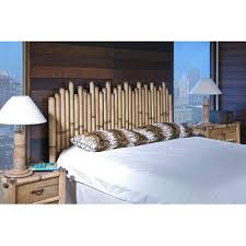 buy havana bamboo panel headboard size king