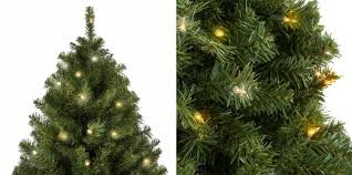 Score The 75 Foot Pre Lit Spruce Hinged Artificial Christmas Tree For Just 11474 Normally 24995 Best Choice