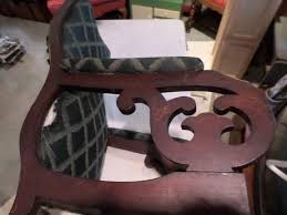 ANTIQUE HAND-CARVED WOOD UPHOLSTERED ROCKING CHAIR ROCKER ... Antique Handcarved Wood Upholstered Rocking Chair Rocker Awesome The Collection Of Styles Antique Cane Rocking Chair Hand Carved Teak Wood Rocking Chair Fniture Tables Sunny Safari Kids Painted Fniture Wooden An Handcarved Skeleton At 1stdibs Old Retro Toy Stock Photo Edit Now India Cheap Chairs Whosale Aliba Andre Bourgault Wood Figures Lot Us 2999 Doll House 112 Scale Miniature Exquisite Floral Fabric Pattern Chairin Houses From Toys Hobbies On Grandmas Attic Auction Catalogue Gooseneck Carved Crafted Windsor By T Kelly