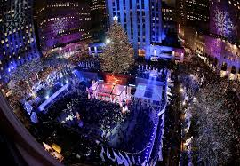 Rockefeller Plaza Christmas Tree by Heightened Security Amid Rockefeller Christmas Tree Lighting