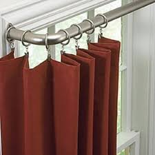 Spring Loaded Curtain Rod 300cm by Best 25 Curved Curtain Pole Ideas On Pinterest Curtain Rod