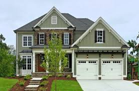 The Madison built by Homes by Dickerson Transitional Exterior