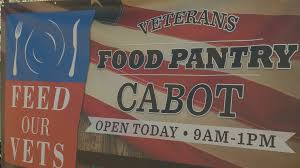 Central Arkansas first veteran food pantry opens its doors
