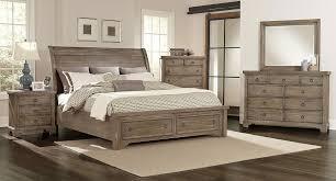 whiskey barrel storage bedroom set rustic gray vaughan bassett