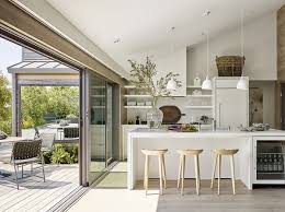 LaCantinas Stacking Multi Slide Door Systems Were Installed With A Minimal Threshold Weather Resistant Sill