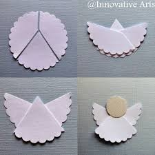 How To Make A Simple DIY ORIGAMI Angel Paper Craft Step By Tutorial
