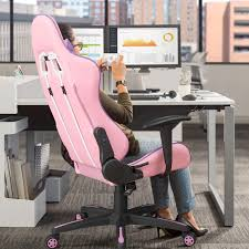 Homall Gaming Chair Racing Office Chair High Back Computer Desk Chair PU  Leather Executive And Ergonomic Swivel Chair With Headrest And Lumbar  Support ... The 10 Best Gaming Chairs Of 2019 Eureka Ergonomic Height Adjustable High Back Computer Chair Best Pc Gaming Chair 2018 Aop3d Best Tech And Gadgets Grandmaster White Awesome Setups Gtforce Pro Fx Recling Sports Racing Office Desk Car Faux Leather Red Merax Design 217lx 217w X524h Blue Acers Predator Thronos Is A Cockpit Masquerading As Would My Ghetto Setup Be Considered Even Budget Cheap For Obutto Workstation Cockpits