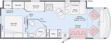 C Floor Plans by Vista Floorplans Winnebago Rvs