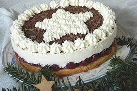 weihnachtliche kirsch mascarpone torte