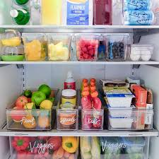 100 Storage Containers For The Home Edit Kitchen Fridge Labels