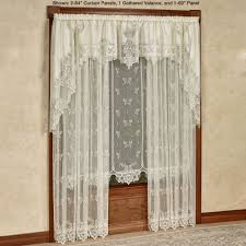 Blue Sheer Curtains Uk by Lace Curtains Touch Of Class