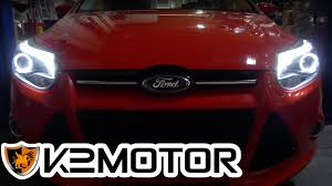 k2 motor installation 2012 ford focus halo led projector