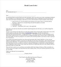 breaking lease letter 28 images 10 best images of tenants