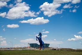 Denver International Airport Murals Horse by Jobs Archives Denverite