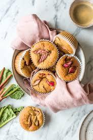 gesunde rhabarber muffins heavenlynn healthy
