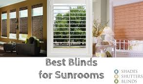 Best Blinds For Sunrooms