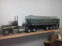 100 Peterbilt Rc Truck 114 Scale Trailer To Match My 11 Scale Trailer LOL AUSTRALIAN