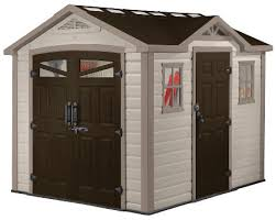 Keter Manor 4x6 Storage Shed by Buy Keter Summit 8 X 9 Storage Shed Steel Reinforced Maintenance