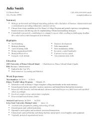Resume Templates Customer Service Student