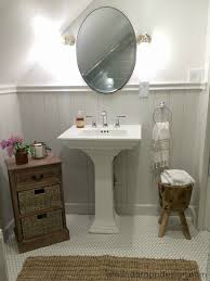 Small Bathroom Wainscoting Ideas by Super Ideas Kohler Pedestal Sinks Small Bathrooms Bathroom Kohler