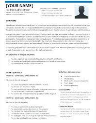 Medical Administrator Resume Hospital Sample Greatest Health Care Administration Healthcare