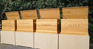 How To Make A Wooden Toy Box by Personalised Wooden Toy Boxes As Made For Prince George Mmss