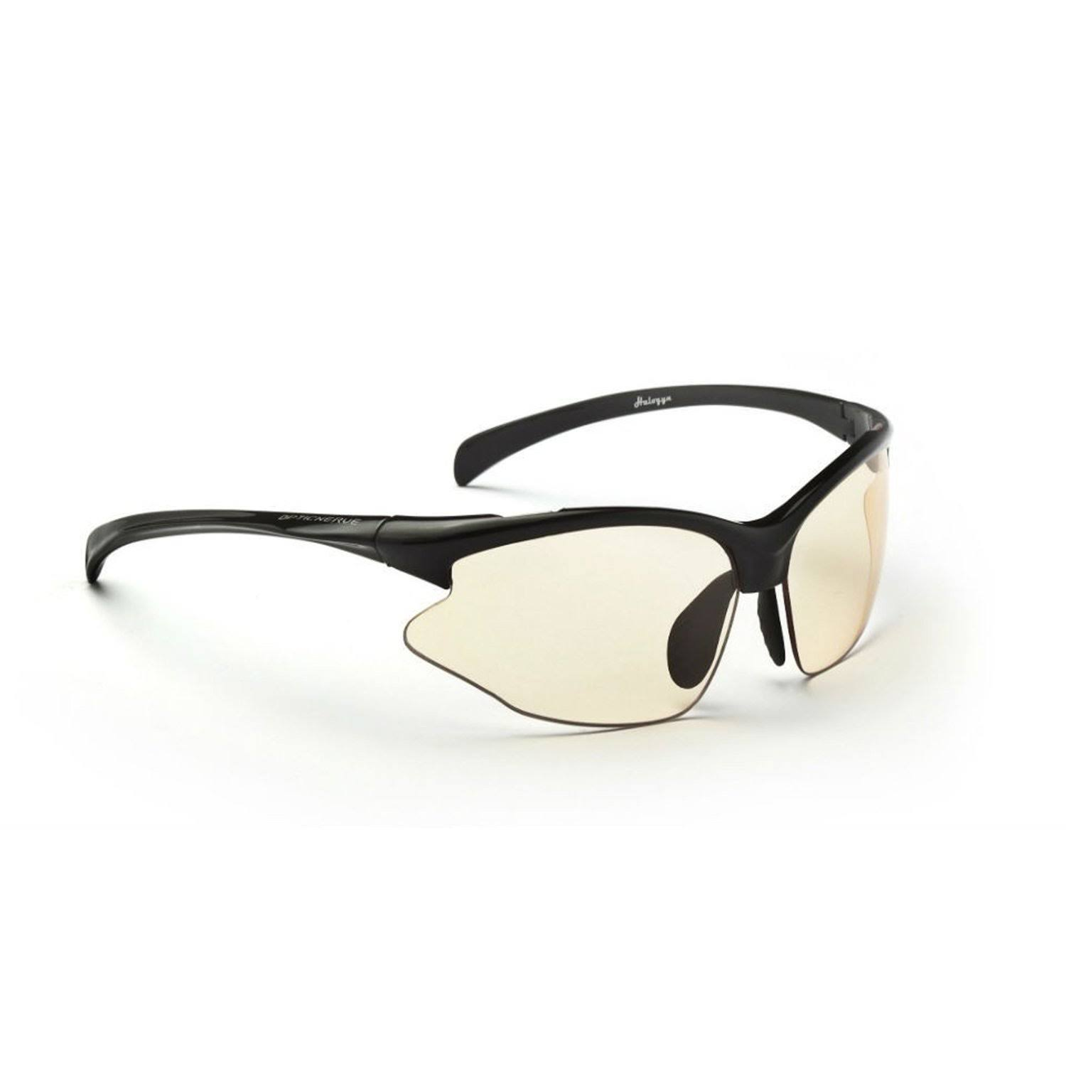 Optic Nerve Omnium PM Sunglasses - Shiny Black, Photomatic, Brown to Brown