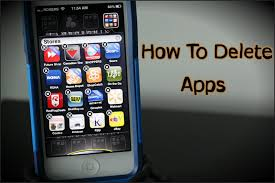 How To Delete Apps The iPhone 5 & 6 How To Use The iPhone 5