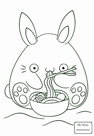 Cute Anime Animals Coloring Pages Luxury Manga On Kawaii Food Chibi Dancing Black