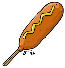 Corn Dog Nuggets Clipart