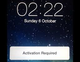 iOS 7 activation required error on iPhone and iPad
