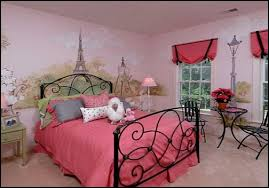 Decor Paris Style French Poodles Room Poodle Bedroom