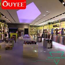 Creative Unique Luxury Wooden Shop Design Ideas For Clothing Display Furniture