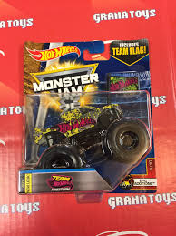 100 Team Hot Wheels Monster Truck Firestorm 510 Epic Additions 2017 Jam Case