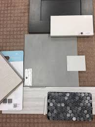 Menards Beveled Subway Tile by Master Bath Walk In Shower Grey Subway Tile With Grey Ombre Penny