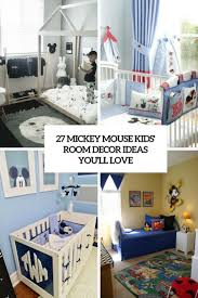 Mickey Mouse Kids Room Decor Ideas Youll Love Cover