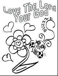 Coloring Pages God Loves Me Love With All
