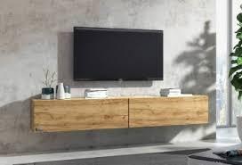 lowboard tv board hängend hängeschrank wohnwand