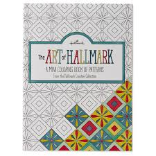 Chic Design Mini Coloring Books The Art Of Hallmark A Book Patterns