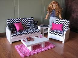 American Girl Doll Living Room