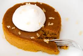 Crustless Pumpkin Pie by Crustless Pumpkin Pie Recipe Use Real Butter