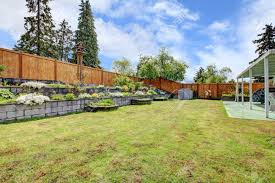 Fenced Backyard With Lawn, Terrace Flower Beds And Porch With ... Patio Ideas Backyard Porches Patios Remarkable Decoration Astonishing Back Patio Ideas Backpatioideassmall Covered Porchbuild Off Detached Garage Perhaps Home Is Porch Design Deck Pictures Back Under Screened Garden Front Planter Small Decorating Plans Best 25 Privacy On Pinterest Outdoor Swimming Pools Resorts Living Nashville Pergola Prefab Metal Roof Kit Building A Attached Covered Overhead Coverings