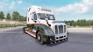100 Cascadia Trucks Freightliner Raised Roof 2007 For American Truck Simulator