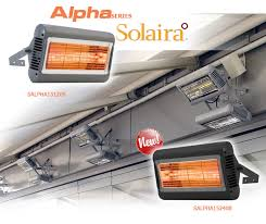 Solaira Patio Heaters by Electric Patio Heaters Infrared Portable U0026 Wall Mount Outdoor Units