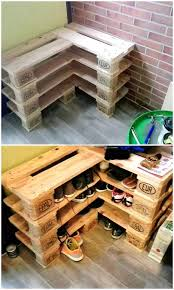 19 DIY Extra Storage Shoe Organizing Ideas 3Pallet Rack