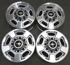 100 17 Truck Wheels CHEVROLET SILVERADO GMC SIERRA TRUCK ALLOY WHEELS X75 5500